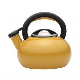 Circulon Teakettles Tea Kettle in Mustard Yellow
