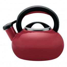 Circulon Teakettles Tea Kettle in Rhubarb Red