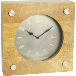 Renwil Norfolk Desk Clock in Natural