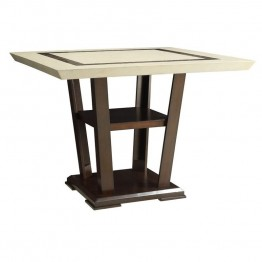 Coaster Lacombe Counter Table in Cappuccino