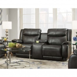 Southern Motion Velocity Double Reclining Loveseat in Hemmingway Slate