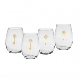 Culver 15 oz Stemless Wine Glass (Set of 4)