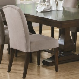 Monarch 2 Piece Dining Chair in Beige