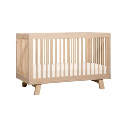 Babyletto Hudson 3-in-1 Convertible Crib in Washed Natural