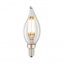 Elk Lighting Filament Candelabra LED Bulb in Clear