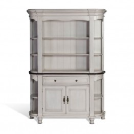 Sunny Designs Bourbon Country China Cabinet in French Country