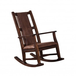Sunny Designs Savannah Rocker with Cushion in Antique Charcoal