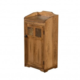 Sunny Designs Sedona Trash Box in Rustic Oak