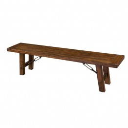 "Sunny Designs Tuscany 72"""" Dining Bench in Vintage Mocha"