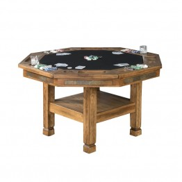 Sunny Designs Sedona Game Table in Rustic Oak
