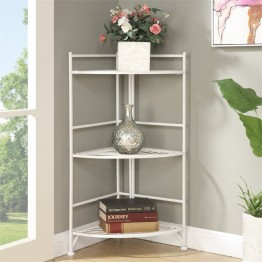 Convenience Concepts Designs2Go Corner Plant Stand in White