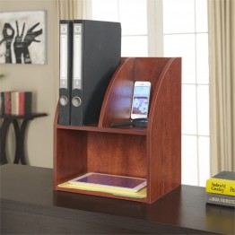 Convenience Concepts Designs2Go Desktop Organizer in Cherry