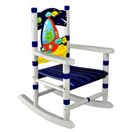 Fantasy Fields Outer Space Wooden Rocking Chair