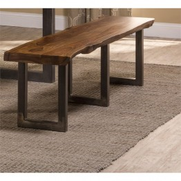 "Hillsdale Emerson 70"""" Dining Bench in Natural Sheesham"