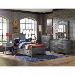 Hillsdale Urban Quarters 5 Piece Full Panel Storage Bedroom Set