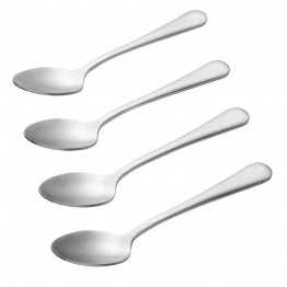 BonJour Coffee Accessories Teaspoon in Stainless Steel (Set of 4)