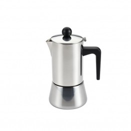 BonJour Coffee 32 Oz Stovetop Espresso Maker in Stainless Steel