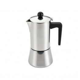 BonJour Coffee 48 Oz Stovetop Espresso Maker in Stainless Steel