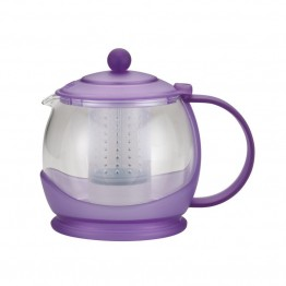 BonJour Tea Glass Teapot in French Lavender