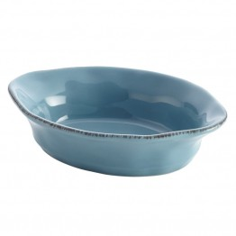 Rachael Ray Cucina Stoneware 12 Oz. Baking Dish in Agave Blue