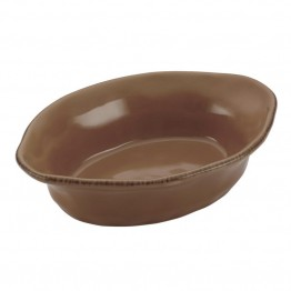 Rachael Ray Cucina Stoneware 12 Oz. Baking Dish in Mushroom Brown