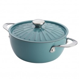 Rachael Ray Cucina 4.5 qt. Casserole in Agave Blue