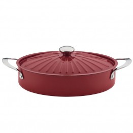Rachael Ray Cucina 5 qt. Dutch Oven in Cranberry Red