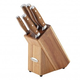 Rachael Ray Cucina Cutlery 6 Piece Cutlery Set in Acacia Wood