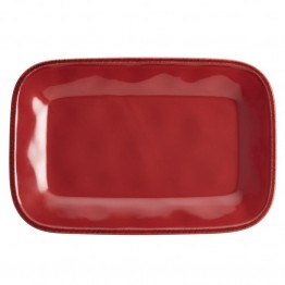 Rachael Ray Cucina Serveware Platter in Cranberry Red