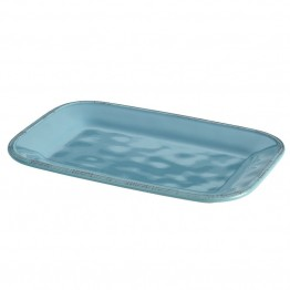 Rachael Ray Cucina Serveware Platter in Agave Blue