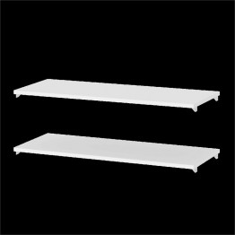 Tvilum Bright 2 Shelf Expansion Pack in White