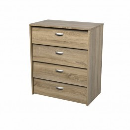 Tvilum Hamilton 4 Drawer Shoe Cabinet in Oak Structure