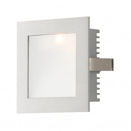 Alico Steplight LED Step Light in Opal and Gray