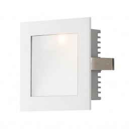 Alico Steplight LED Step Light in Opal and White