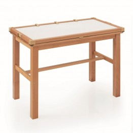 Guidecraft Light LED Activity Center Table in Beech