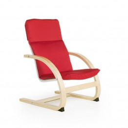 Guidecraft Nordic Rocker in Red
