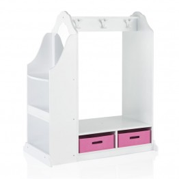 Guidecraft Dress Up Vanity in White