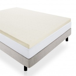 "Malouf Lucid Full 3"""" Ventilated Memory Foam Mattress Topper"