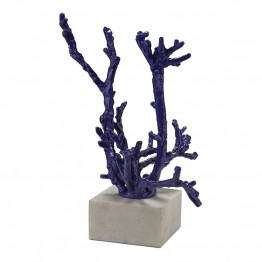 Dimond Home Staghorn Coral Sculpture in Purple