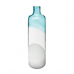 "Dimond Home 18"""" Clouds and Sky Vase in Blue"