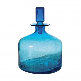 "Dimond Home 12"""" Decanter in Blue"