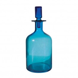 "Dimond Home 16"""" Decanter in Blue"