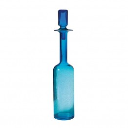 "Dimond Home 21"""" Decanter in Blue"