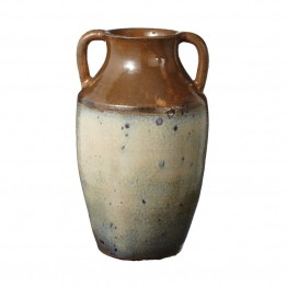 Dimond Home Ochre Olive Jar in Brown and Cream