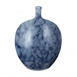 "Dimond Home Midnight Marble 11"""" Bottle in Blue"