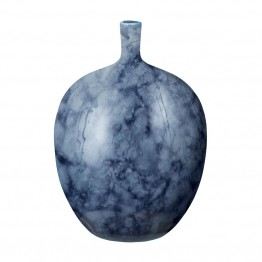 "Dimond Home Midnight Marble 14"""" Bottle in Blue"