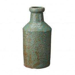 Dimond Home Rustic Jungle Milk Bottle in Green