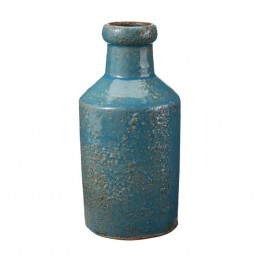 Dimond Home Rustic Ocean Milk Bottle in Blue