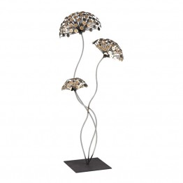Dimond Home Metal Sculpture Dandelion in Gold and Burnished Accent