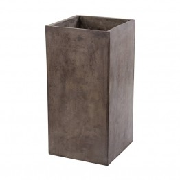 "Dimond Home Al Fresco 31.5"""" Cement Planter in Concrete"